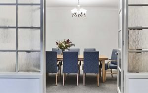 Dining room at Japara Anglesea aged care home
