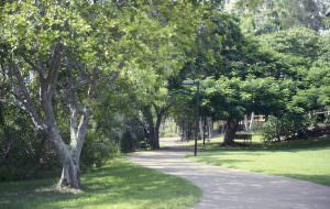 Park near Japara Noosa aged care home