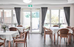 Dining room at Japara Scottvale aged care home