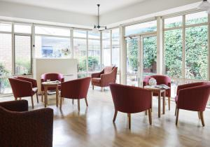 Common room at Japara Yarra West aged care home