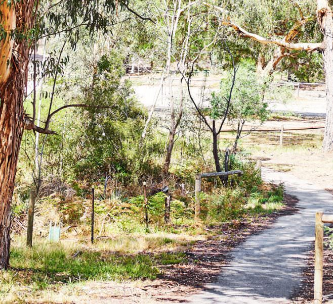 Parkland near Japara Lower Plenty Gardens Views aged care home.