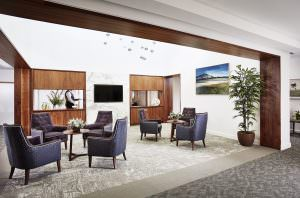 Upper floor Living room at Japara Central Park aged care home