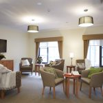 Living room at Japara Albury & District aged care home