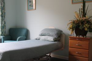 Bedroom at Japara Anglesea aged care home