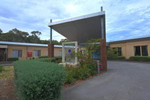 Front entrance at Japara Anglesea aged care home
