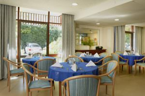 Dining room at Japara Bayview Gardens aged care home