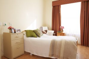 Bedroom at Japara Brighton aged care home