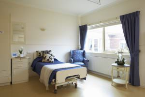 Bedroom at Japara Capel Sands aged care home