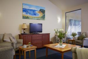 Living room at Japara Elouera aged care home