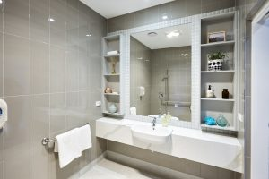 Bathroom at Japara George Vowell aged care home