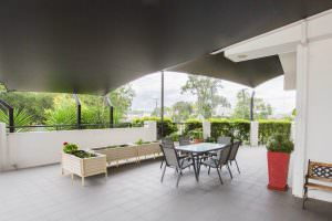 Courtyard at Japara Gympie aged care home