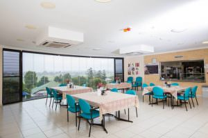 Dining room at Japara Gympie aged care home