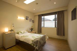 Bedroom at Japara Hallam aged care home