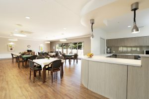 Dining Room at  Japara Kirralee aged care home