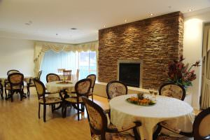 Dining room at Japara Lakes Entrance aged care home