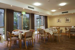 Dining room at Japara Lower Plenty aged care home