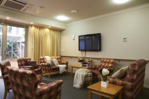 Living room at Japara Lower Plenty aged care home