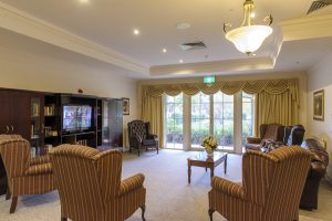 Living room at Japara Narracan Gardens aged care home
