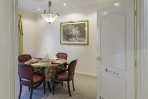 Dining room at Japara Narracan Gardens aged care home