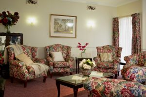Living room at Japara Roccoco aged care home