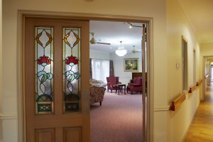 Hallway at Japara Roccoco aged care home
