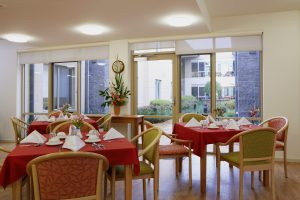 Dining room at Japara Sandhill aged care home