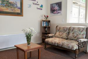 Living room at Japara Strzelecki House aged care home