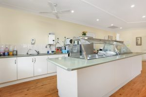 Kitchen at Japara The Homestead Walkley Heights aged care home