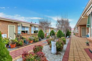 Courtyard at Japara The Homestead Walkley Heights aged care home