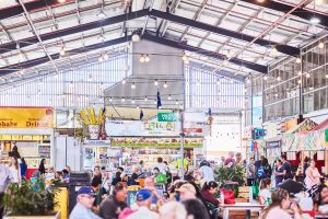 Dandenong market scene near Japara Scottvale aged care home