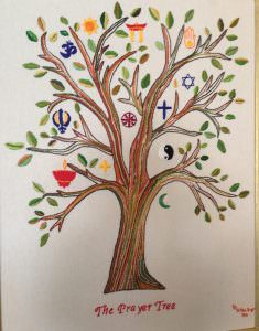 Prayer tree created by the Scottvale community.