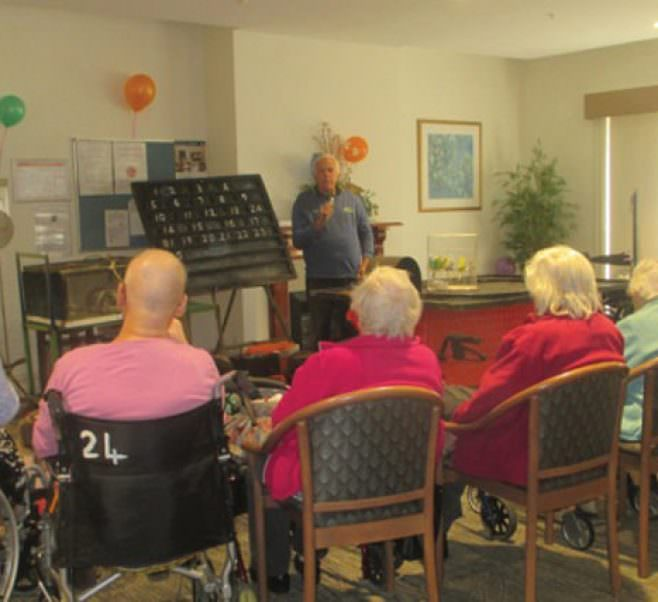 Grandparents Day at Kelaston Aged Care Home.