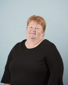 Photo of Angela Clement, facility manager at Japara Albury & District aged care home