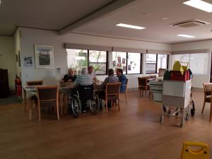 residents in the Trevu house (multipurpose room)