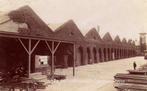 The Newport Railway Workshops in the early 20th Century