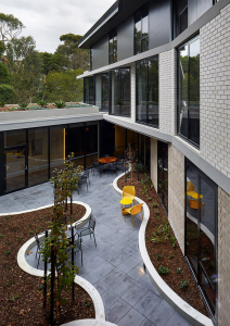 Outdoor courtyard at The Regent