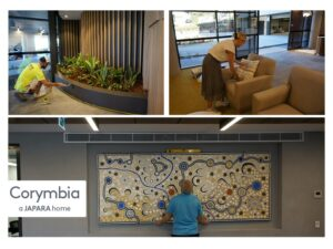 Final touches being made at Corymbia
